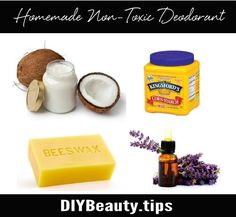 How To Make Your Own Deodorant   DIY Beauty.Tips