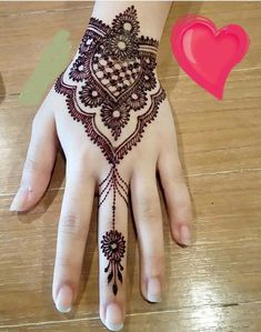 So Beautifl Mehndi Design 2018