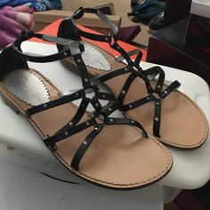 Jessica Simpson gladiator sandals Used on a trip to Florida and I honestly forgot I had these, I probably will never use again. So again my loss is your gain!! There is some wear on them but still got A LOT of life left in them! Cute with a mini skirt, jeans or shorts! Jessica Simpson Shoes Sandals