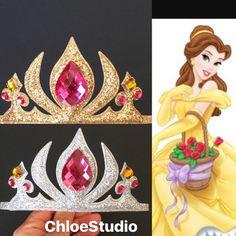 SALEBelle CrownBelle HeadbandBelle crown by ChloeStudio on Etsy