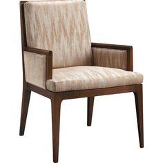 Baker Furniture - Carmel Upholstered Dining Arm Chair - 3643-1