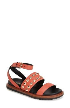 COACH+'Dannie'+Studded+Ankle+Strap+Sandal..   Love my new pair of sandals :0)
