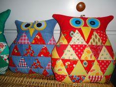 sowa-owl-patchwork