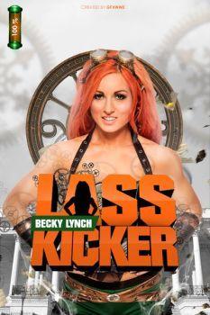 Image(s) of Becky Lynch name are copyrighted by WWE Becky Lynch Lass Kicker Wrestling Superstars, Women's Wrestling, Becky Lynch Instagram, Rebecca Quin, Wwe Female Wrestlers, Wwe Womens, Comics Girls, Professional Wrestling, Wwe Divas
