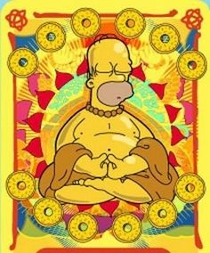 DownDog Funnies: Zen Homer… From the Downdog Diary Yoga Blog found exclusively…