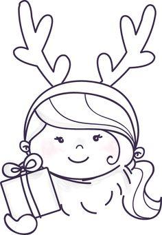 Amstelmam rendiermeisje kerst