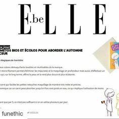 """Vous les avez testés ? #Repost @funethic with @repostapp  Le magazine @ellebelgique a sélectionné les #CarrésMagiques #FunEthic dans son dossier """"Les cosmétos bios et écolos pour aborder l'automne en douceur""""   Et vous vous les avez déjà adoptés ?  Ils sont disponibles en #France sur notre site internet www.fun-ethic.fr et dans certains magasins de l'Est en #Belgique sur le site @sebiobelgium au #Luxembourg dans les magasins Cactus en #Suisse sur le site de @lexiebeaute et en #Espagne sur le…"""