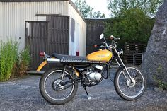 """Pretty Rude Motorcycles – Yamaha DT 50 M """"The Snake""""…"""