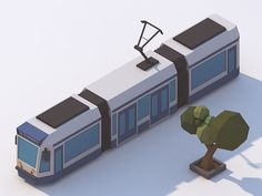 Amsterdam tram by Michiel van den Berg