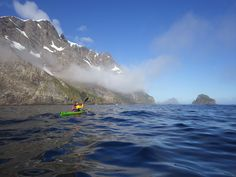 Inside the record-breaking, sea kayak circumnavigation of South Georgia Island with a hardy four-man crew of Aussies, average age: South Georgia Island, Kayaking, Mount Everest, Sea, Mountains, Travel, Kayaks, Viajes, Trips