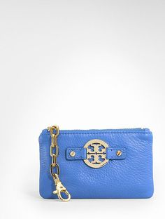 Tory change purse.  Great spring color!