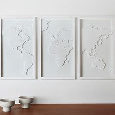 Saul, or this for my travel wall... Mapster Wall Decoration.