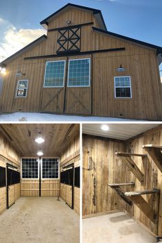 There's a lot of planning involved with building the horse barn of your dreams. We have plenty of horse experts on staff ready to help you along every step of the way. Barn Stalls, Horse Stalls, Horse Barns, Horse Fencing, Horse Barn Plans, Barn House Plans, Horse Barn Decor, Barn Layout, Barns
