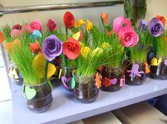 Un joli pot fleuri pour la fête de ceux qu'on aime. - Gdine & Co