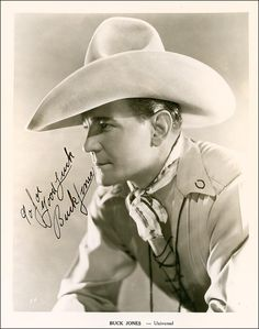 Buck Jones (December – November was an American motion picture star of the and best known for his work starring in many popular western movies. In his early film appearances, he was billed as Charles Jones. Ranger, Old Western Movies, Hollywood Stars, Hollywood Actor, Hollywood Glamour, Classic Hollywood, Tv Westerns, Old Movie Stars, Cowboys And Indians