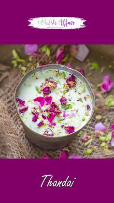 Kulfi Recipe, Chai Recipe, Halal Recipes, Sweet Recipes, Thandai Recipes, Indian Drinks, Falooda, Summer Drink Recipes, Indian Dessert Recipes