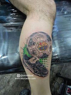 Soccer tattoo by tato castro Rock City Tattoo Shop Bucaramanga Colombia Tattoo Futbol, Soccer Tattoos, Football Tattoo, Number Tattoos, City Tattoo, S Tattoo, Tattoo Shop, Life Tattoos, Tattoos For Guys