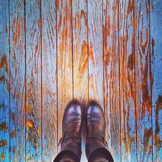 From Where I Stand, Frye boots, Texture and blue. North Carolina