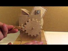 Circular Logic: Kinetic Sculpture - YouTube