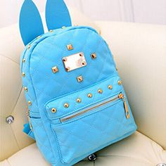 Perk up your day and your outfit with this cute Kawaii backpack. Designed in bright colors, it will surely complement your other Kawaii outfits. You can also wear the bag to boost your daily casual ou