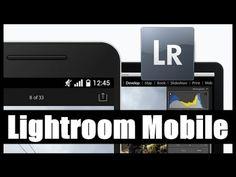 Edición de foto en Lightroom Mobile