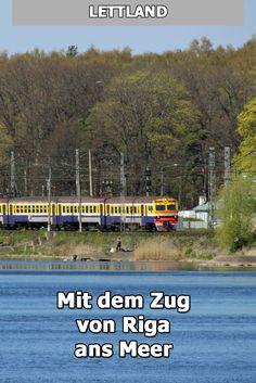 Per Bahn kommt man wunderbar von Riga ans Meer. Der Zug nach Jurmala an die Ostsee fährt nicht lange.