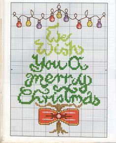 PUNTO CRUZ 4 Navidad