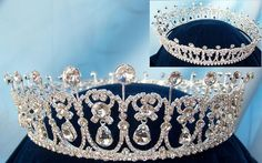 Cambridge Lover's Knot tiara This is one of the most popular tiara in the Queen's Collection, It is another one of the many multi-style tiaras. the pearls would fit behind the small diamond bows ), El