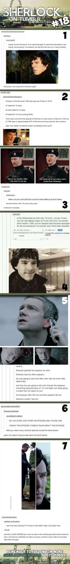 Sherlock On Tumblr #
