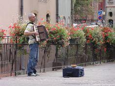 ... suonatore di fisarmonica ( accordéon ) - Colmar (F) - 18/09/2012 -© Umberto Garbagnati -