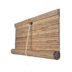 Compra ahora una cortina esterilla enrollable de madera pino Bamboo Cutting Board, Staging, Les Oeuvres, Ideas Para, Pergola, Interior Design, Windows, Decorating, Plants