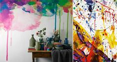 Paint Effects on Walls � without effort and without paint