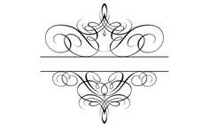 Flourish Monogram 05.png 520×316 pixels