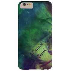 Rainbow Space Flower iPhone 6 Plus Case *Personalize*