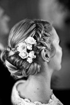 Get the boho-glam – Festliche Frisuren / Haistyles for weddings and parties - Wedding Hair Wedding Day Dresses, White Dress Summer, Wedding Makeup, Bride Makeup, Wedding Beauty, Hair Trends, Bridal Style, Hair Pins, Bridal Hair