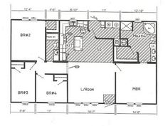 Small Double Wide Mobile Home Floor Plans Design Ideas Http Lovelybuilding