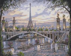 Cheap painting bowl, Buy Quality painting blue directly from China picture of a princess Suppliers: DIY oil Painting Frameless Paris Street By Numbers Handpainted Canvas Painting Home Wall Art Picture For Living Room Unique Gift