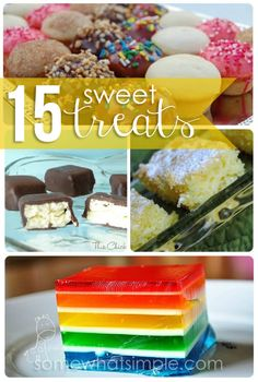 15 sweet treats that you've GOT to try!
