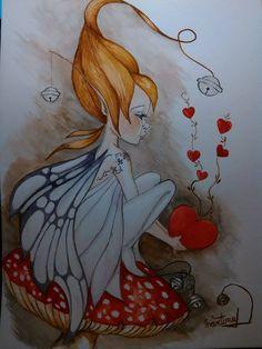 Fairy Sketch, Fairy Drawings, Fairy Tattoo Designs, Kobold, Fairy Pictures, Beautiful Fairies, Fairy Art, Fantasy Creatures, Faeries
