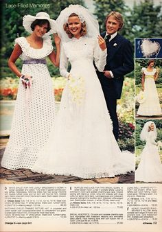 Kathy Loghry Blogspot: Crazy Catalog Stuff - Part 4: Say Yes to the Dress!