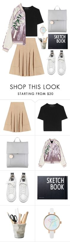"""""""Escape"""" by con-artist ❤ liked on Polyvore featuring Halston Heritage, Proenza Schouler, Radley, Design Letters and ESSEY"""