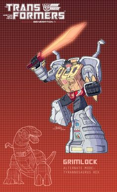 Grimlock poster by J-Rayner.deviantart.com on @DeviantArt