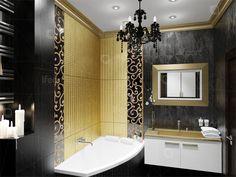 Дизайн ванной в стиле ар-деко | lifeat.su