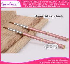Acrylic Nail Art Brush,Size NO:2#,4#,6#,8#,10#,12#; MOQ:50PCS one size or 200pcs mixed size