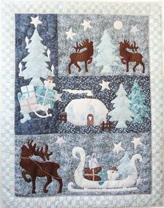 Winter Tales by Gabi Tietz at All About My Quiltshop (Germany)