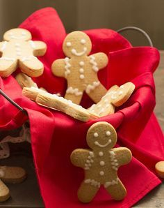 Galletas de jengibre. Receta europea con Thermomix « Thermomix en el mundo Christmas Cooking, Christmas Time, Xmas, Gingerbread Man Cookies, Cookie Packaging, Thermomix Desserts, Bellini, Sweet And Salty, Jingle Bells