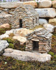 Stone Fairy houses