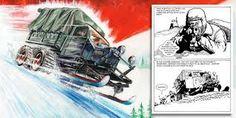 Resultado de imagen de war page comic snow ww2