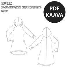 PDF Kuura Knitting Patterns, Sewing Patterns, Sewing Techniques, Clothing Patterns, Handicraft, Knit Crochet, Pdf, Couture, Malli