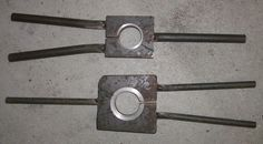 Bearing Race Removal Tool by clintnz -- Homemade motorcycle crankshaft bearing race removal tool intended for a KTM engine. Fabricated from steel plate, round bar, and machined steel rings. http://www.homemadetools.net/homemade-bearing-race-removal-tool